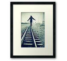 On Track ii Framed Print