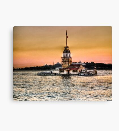 Maiden's Tower - HDR Canvas Print