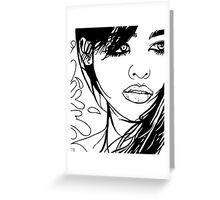 Hara Greeting Card