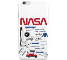 Nasa Standard Graphics Collage iPhone Case/Skin