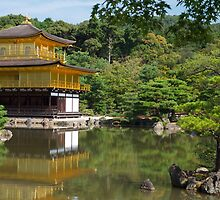 Kinkaku-ji Temple - Kyoto, Japan by Emily Mogic