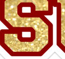 Glitter FSU Sticker