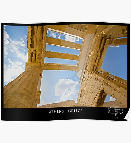 { acropolis in the sky } Poster