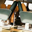Ferry Boat Seats by tmtphotography