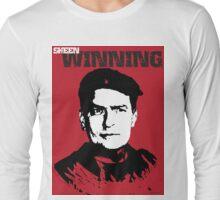 Winning Charlie Sheen T Shirt Long Sleeve T-Shirt