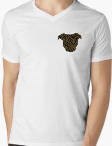 Pittie Head Brindle Mens V-Neck T-Shirt
