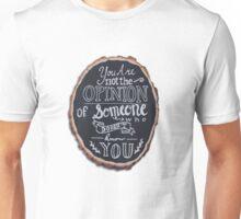 Taylor Swift Clean Speech Chalkboard Art Unisex T-Shirt