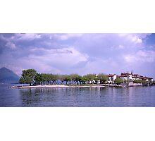 Isola dei Pescatori, Borromean Islands, Lake Maggiore, Italy. Photographic Print