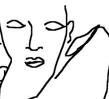 spanish flamenco dancer -(050311)- mouse drawn/ms paint by paulramnora
