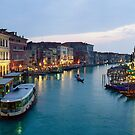 Venice Evening - 16x24 by Larry Costales