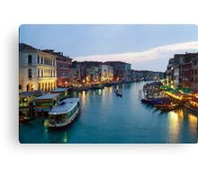 Venice Evening - 16x24 Canvas Print
