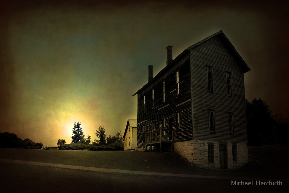 Old House by Michael  Herrfurth