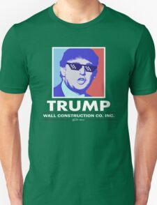 Trump Wall Construction Company Unisex T-Shirt