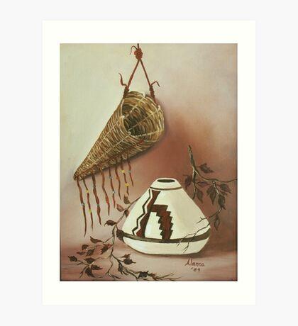 The Burden Basket Art Print