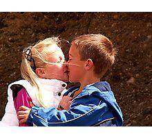 Loving siblings ! Photographic Print