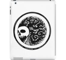 Skull on fire iPad Case/Skin