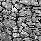 Stone wall by Kutay Photography