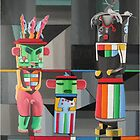 KACHINA DOLLS by Sergio  Roffe