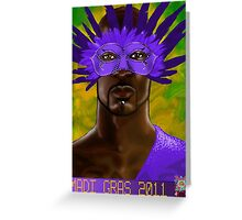Madi Gras 2011 Greeting Card