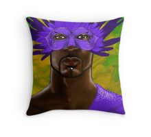 Madi Gras 2011 Throw Pillow