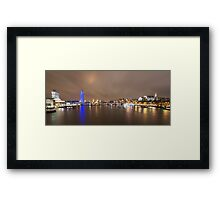 The London Eye and the River Thames Framed Print