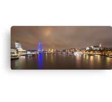 The London Eye and the River Thames Canvas Print