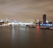 The City Of London From The Thames by Graham Ettridge