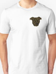 Pittie Head Brindle Unisex T-Shirt