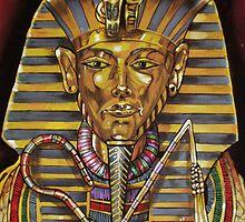 Egyptian Painting by Bobbie J. Bonebrake