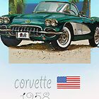 classic corvette by DannyBurns