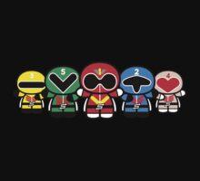 Chibi-Fi Super Sentai Goranger Kids Tee