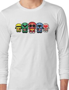 Chibi-Fi Super Sentai Goranger Long Sleeve T-Shirt