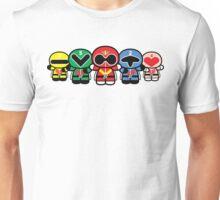 Chibi-Fi Super Sentai Goranger Unisex T-Shirt