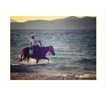 Greek Horsemanship Art Print
