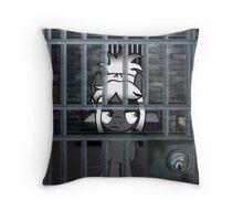 TechtonicSilver Throw Pillow