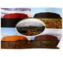 The Many Moods of Uluru Poster