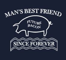 Future Bacon - white design Kids Tee