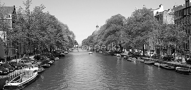 Canal Amsterdam by rocperk