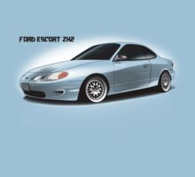 Ford Escort ZX2 (Black text) by nwdesign