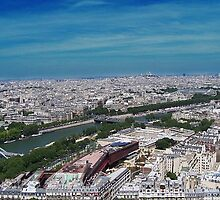View from the Eifel Tower by rocperk
