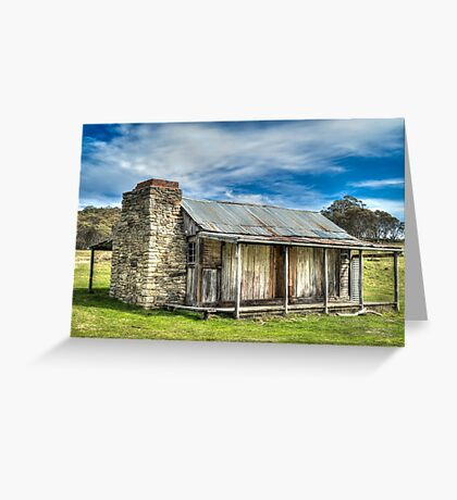Historic hut Greeting Card