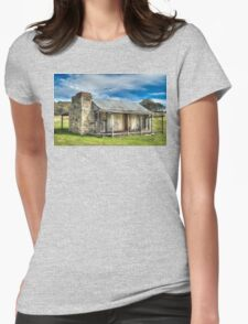 Historic hut Womens Fitted T-Shirt
