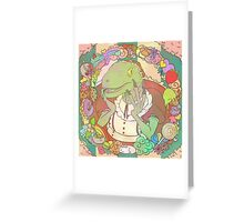 Velocimaidtor Greeting Card