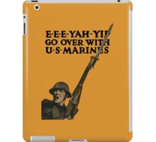 Go Over With US Marines -- World War One iPad Case/Skin