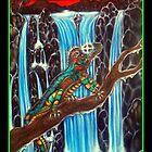 rainbow lizard by josh astuto