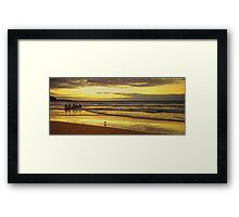Morning Training Framed Print