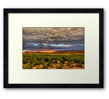 Arizona Traditional Framed Print