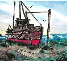 The Old Boat by Tabitha Longbrake