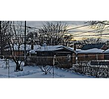 One Cold Winter Morning Photographic Print