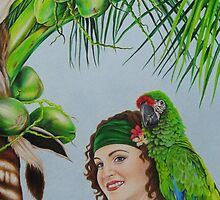 Captain Jane Parrot by lanadi